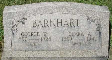 BARNHART, GEORGE W. - Montgomery County, Ohio | GEORGE W. BARNHART - Ohio Gravestone Photos