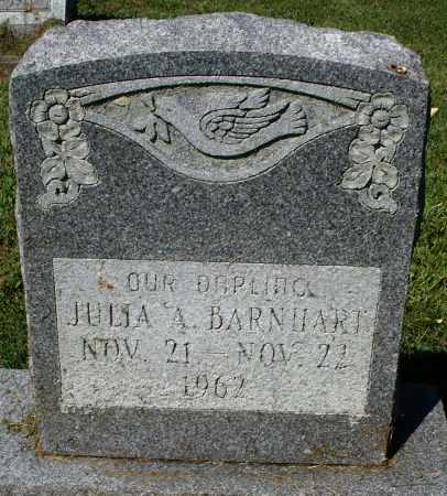 BARNHART, JULIA A. - Montgomery County, Ohio | JULIA A. BARNHART - Ohio Gravestone Photos