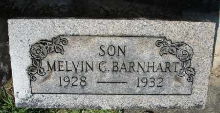BARNHART, MELVIN C. - Montgomery County, Ohio | MELVIN C. BARNHART - Ohio Gravestone Photos