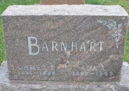 BARNHART, OHMER R. - Montgomery County, Ohio | OHMER R. BARNHART - Ohio Gravestone Photos