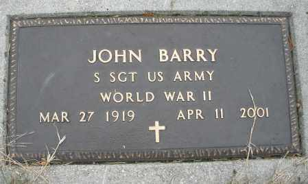 BARRY, JOHN - Montgomery County, Ohio | JOHN BARRY - Ohio Gravestone Photos