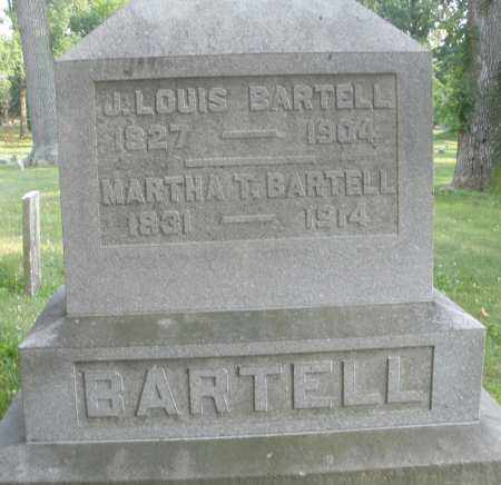 BARTELL, MARTHA T. - Montgomery County, Ohio | MARTHA T. BARTELL - Ohio Gravestone Photos