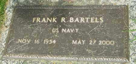 BARTELS, FRANK R - Montgomery County, Ohio | FRANK R BARTELS - Ohio Gravestone Photos