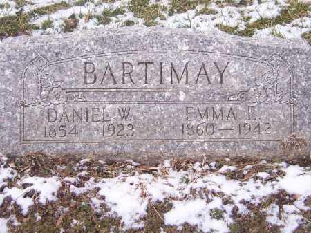BARTIMAY, DANIEL W. - Montgomery County, Ohio | DANIEL W. BARTIMAY - Ohio Gravestone Photos