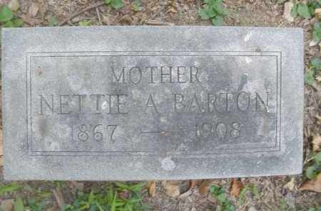 BARTON, NETTIE A. - Montgomery County, Ohio | NETTIE A. BARTON - Ohio Gravestone Photos