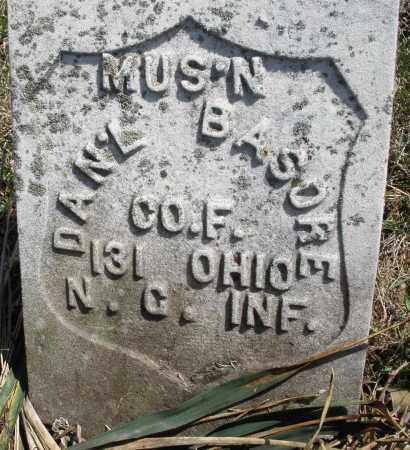 BASORE, DANIEL - Montgomery County, Ohio | DANIEL BASORE - Ohio Gravestone Photos