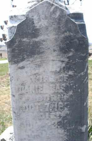 BASORE, WIFE OF DANIEL - Montgomery County, Ohio | WIFE OF DANIEL BASORE - Ohio Gravestone Photos