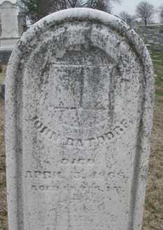 BATDORF, JOHN - Montgomery County, Ohio | JOHN BATDORF - Ohio Gravestone Photos