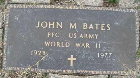 BATES, JOHN M. - Montgomery County, Ohio | JOHN M. BATES - Ohio Gravestone Photos
