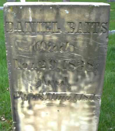 BATTS, DANIEL - Montgomery County, Ohio | DANIEL BATTS - Ohio Gravestone Photos