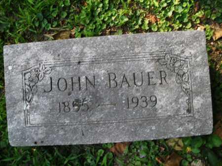 BAUER, JOHN - Montgomery County, Ohio | JOHN BAUER - Ohio Gravestone Photos