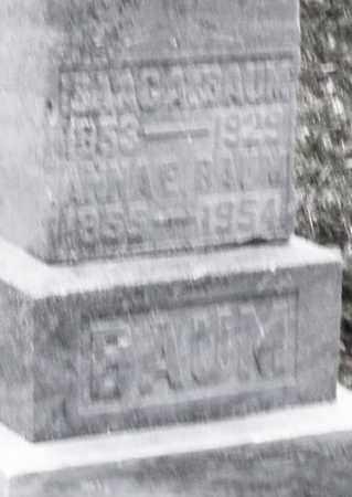 BAUM, ISSAC - Montgomery County, Ohio | ISSAC BAUM - Ohio Gravestone Photos