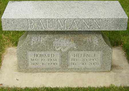 BAUMANN, HOWARD - Montgomery County, Ohio | HOWARD BAUMANN - Ohio Gravestone Photos