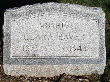BAVER, CLARA - Montgomery County, Ohio | CLARA BAVER - Ohio Gravestone Photos