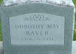 BAVER, DOROTHY MAY - Montgomery County, Ohio | DOROTHY MAY BAVER - Ohio Gravestone Photos