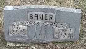 BAVER, MARY A. - Montgomery County, Ohio | MARY A. BAVER - Ohio Gravestone Photos