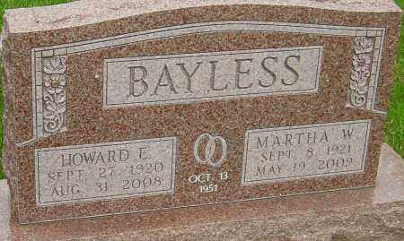 WAGGONER BAYLESS, MARTHA - Montgomery County, Ohio | MARTHA WAGGONER BAYLESS - Ohio Gravestone Photos