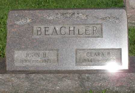 BEACHLER, JOHN H. - Montgomery County, Ohio | JOHN H. BEACHLER - Ohio Gravestone Photos