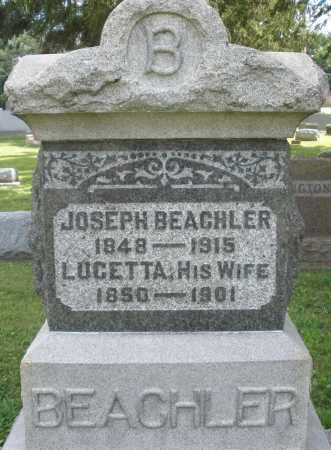 BEACHLER, LUCETTA - Montgomery County, Ohio | LUCETTA BEACHLER - Ohio Gravestone Photos