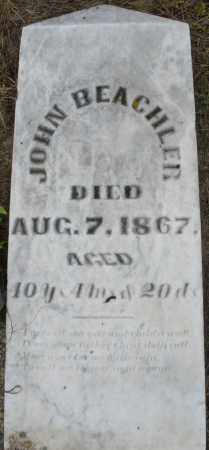 BEACHLER, JOHN - Montgomery County, Ohio | JOHN BEACHLER - Ohio Gravestone Photos