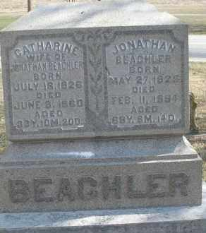 BEACHLER, JONATHAN - Montgomery County, Ohio | JONATHAN BEACHLER - Ohio Gravestone Photos
