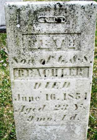 BEACHLER, LEVI - Montgomery County, Ohio   LEVI BEACHLER - Ohio Gravestone Photos
