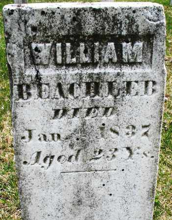 BEACHLER, WILLIAM - Montgomery County, Ohio | WILLIAM BEACHLER - Ohio Gravestone Photos