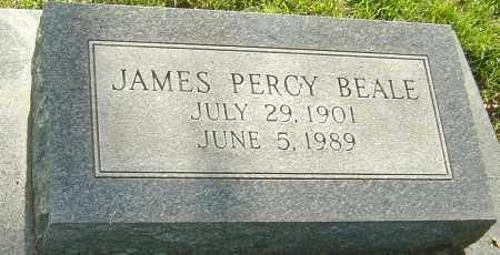 BEALE, JAMES PERCY - Montgomery County, Ohio | JAMES PERCY BEALE - Ohio Gravestone Photos