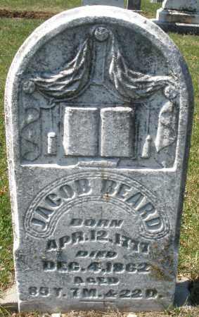BEARD, JACOB - Montgomery County, Ohio | JACOB BEARD - Ohio Gravestone Photos