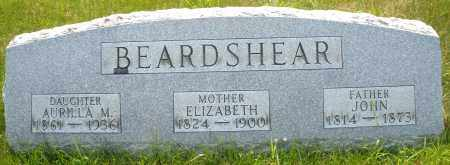 BEARDSHEAR, ELIZABETH - Montgomery County, Ohio | ELIZABETH BEARDSHEAR - Ohio Gravestone Photos