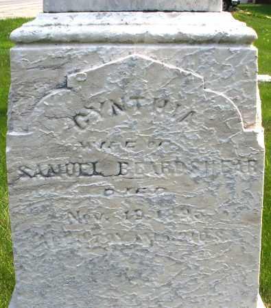 BEARDSHEAR, CYNTHIA - Montgomery County, Ohio | CYNTHIA BEARDSHEAR - Ohio Gravestone Photos