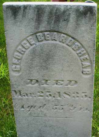 BEARDSHEAR, GEORGE - Montgomery County, Ohio | GEORGE BEARDSHEAR - Ohio Gravestone Photos