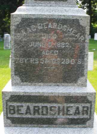 BEARDSHEAR, ISAAC - Montgomery County, Ohio | ISAAC BEARDSHEAR - Ohio Gravestone Photos