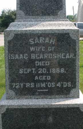 BEARDSHEAR, SARAH - Montgomery County, Ohio | SARAH BEARDSHEAR - Ohio Gravestone Photos