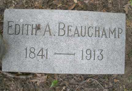 BEAUCHAMP, EDITH A. - Montgomery County, Ohio | EDITH A. BEAUCHAMP - Ohio Gravestone Photos