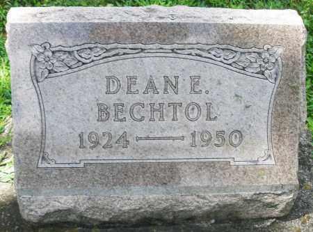 BECHTOL, DEAN E. - Montgomery County, Ohio | DEAN E. BECHTOL - Ohio Gravestone Photos