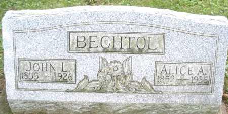 BECHTOL, JOHN L. - Montgomery County, Ohio | JOHN L. BECHTOL - Ohio Gravestone Photos