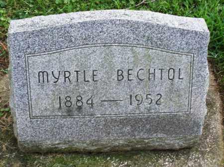 BECHTOL, MYRTLE - Montgomery County, Ohio | MYRTLE BECHTOL - Ohio Gravestone Photos