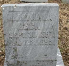 BECK, HARRY ALVIN - Montgomery County, Ohio | HARRY ALVIN BECK - Ohio Gravestone Photos