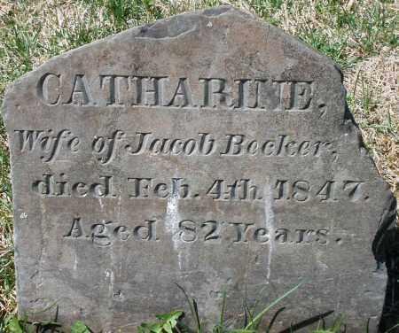 BECKER, CATHARINE - Montgomery County, Ohio | CATHARINE BECKER - Ohio Gravestone Photos