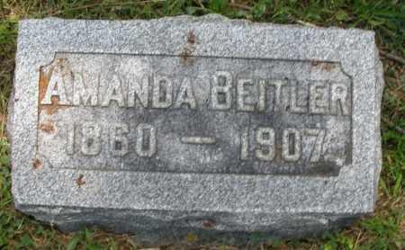BEITLER, AMANDA - Montgomery County, Ohio | AMANDA BEITLER - Ohio Gravestone Photos