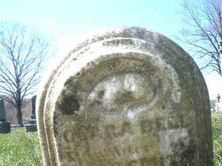 BELL, CLARA - Montgomery County, Ohio | CLARA BELL - Ohio Gravestone Photos