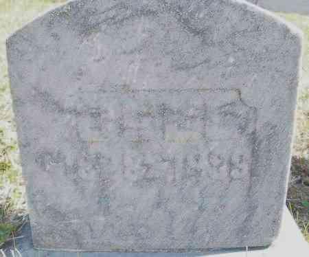 BELL, JOSEPH - Montgomery County, Ohio | JOSEPH BELL - Ohio Gravestone Photos