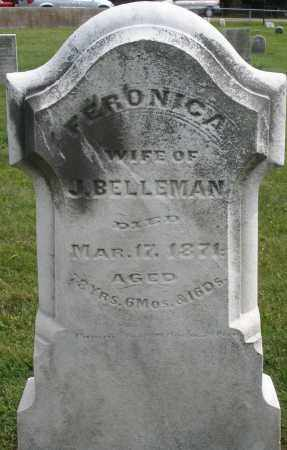 BELLEMAN, FERONICA - Montgomery County, Ohio | FERONICA BELLEMAN - Ohio Gravestone Photos
