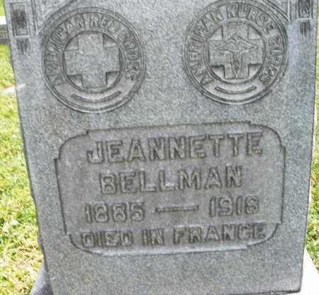 BELLMAN, JEANNETTE - Montgomery County, Ohio | JEANNETTE BELLMAN - Ohio Gravestone Photos