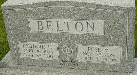 BELTON, RICHARD H - Montgomery County, Ohio | RICHARD H BELTON - Ohio Gravestone Photos