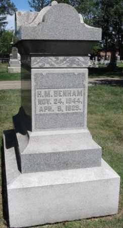 BENHAM, HARRIETT M - Montgomery County, Ohio   HARRIETT M BENHAM - Ohio Gravestone Photos