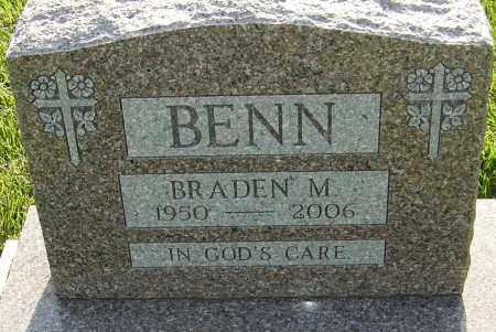 BENN, BRADEN MITCHELL - Montgomery County, Ohio | BRADEN MITCHELL BENN - Ohio Gravestone Photos