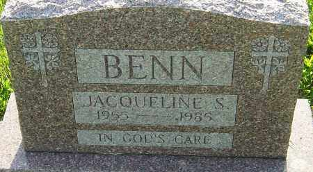 BENN, JACQUELINE S - Montgomery County, Ohio | JACQUELINE S BENN - Ohio Gravestone Photos