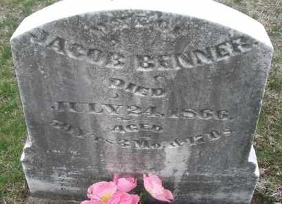 BENNER, JACOB - Montgomery County, Ohio | JACOB BENNER - Ohio Gravestone Photos